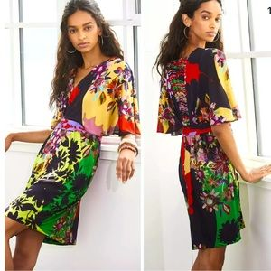 NWT ANTHROPOLOGIE RannaGill Sabatina Mini Dress M
